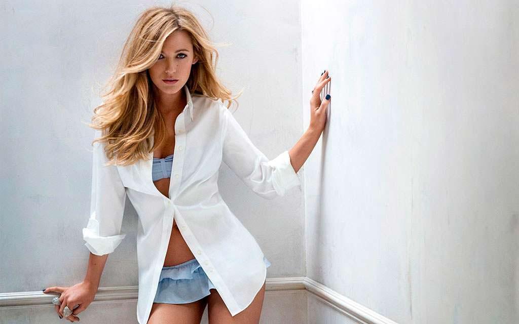 Блейк Лавли - самая красивая блондинка мира