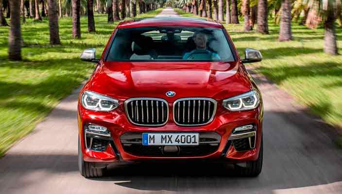 Купе-кроссовер BMW X4 второго поколения официально   фото
