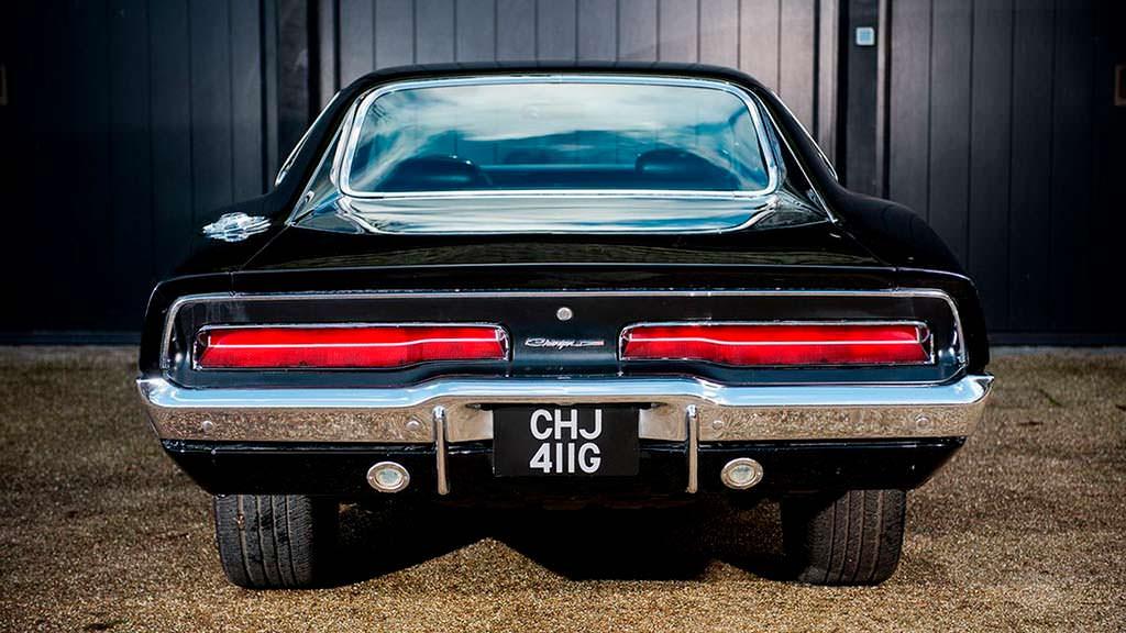Dodge Charger Bullitt 1969 года выпуска