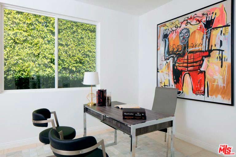 Дизайн домашнего кабинета Билли Боба Торнтона