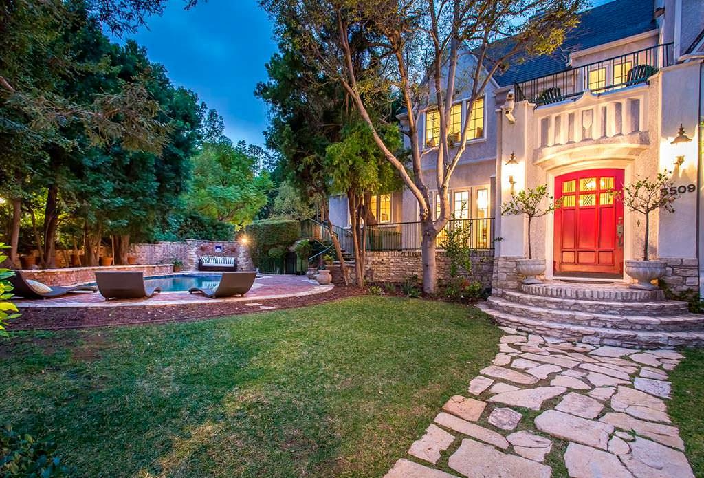 Дом диджея Moby в Лос-Анджелесе