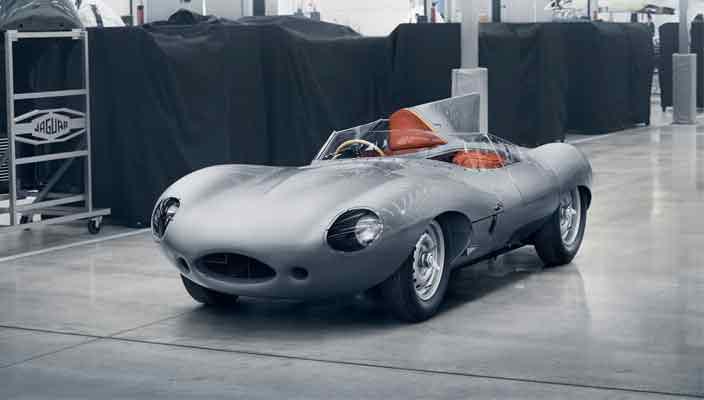 Jaguar D-Type возвращается, выпустят 25 новых машин | фото