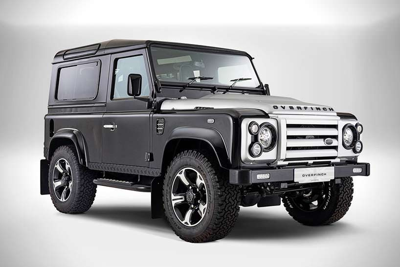 Land Rover Defender. Тюнинг от Overfinch