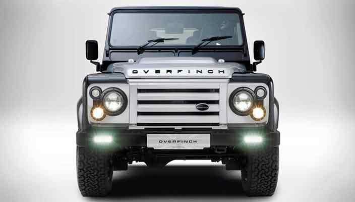 Overfinch отмечает 40-летие особым Land Rover Defender | фото