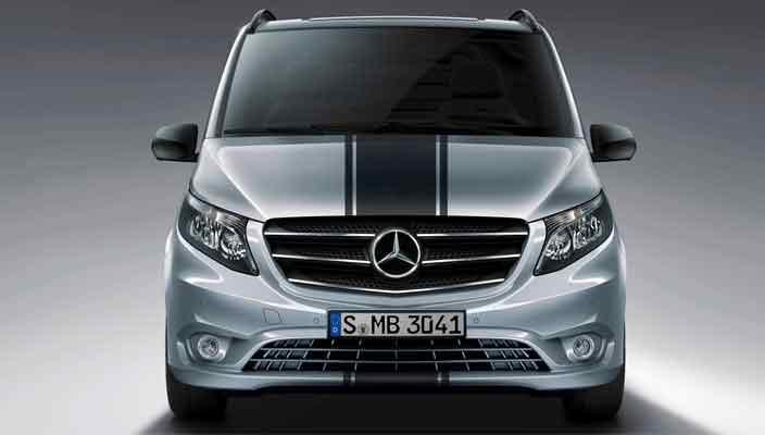 Минивэн Mercedes-Benz Vito получил пакет Sport Line   фото