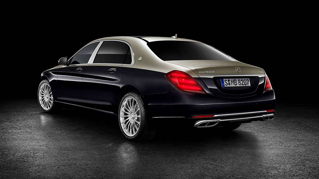 Рестайлинг Mercedes-Maybach S-Class