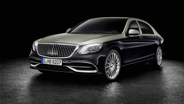 Новый Mercedes-Maybach S-Class готов к дебюту в Женеве | фото