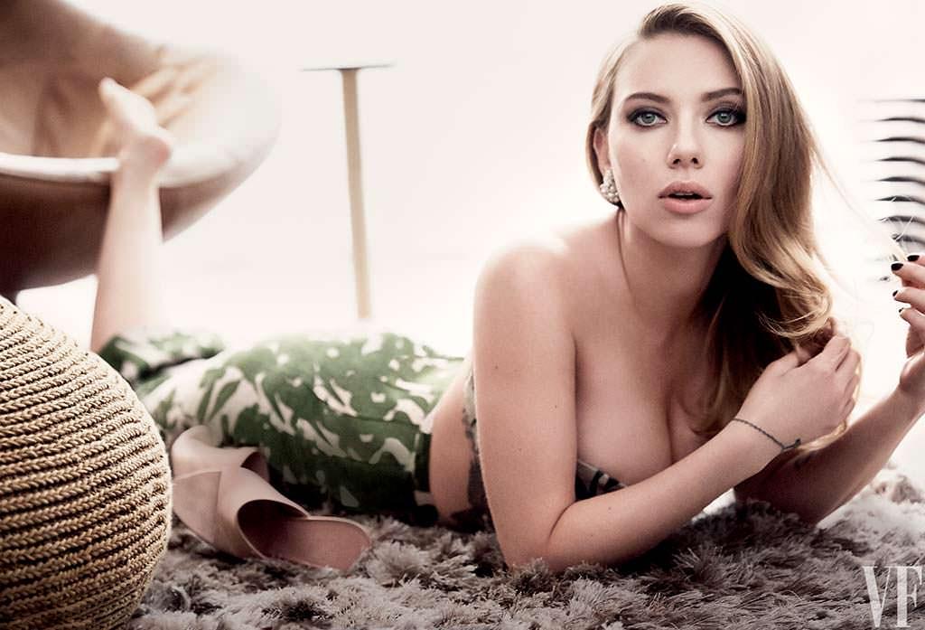Скарлетт Йоханссон - самая красивая блондинка мира