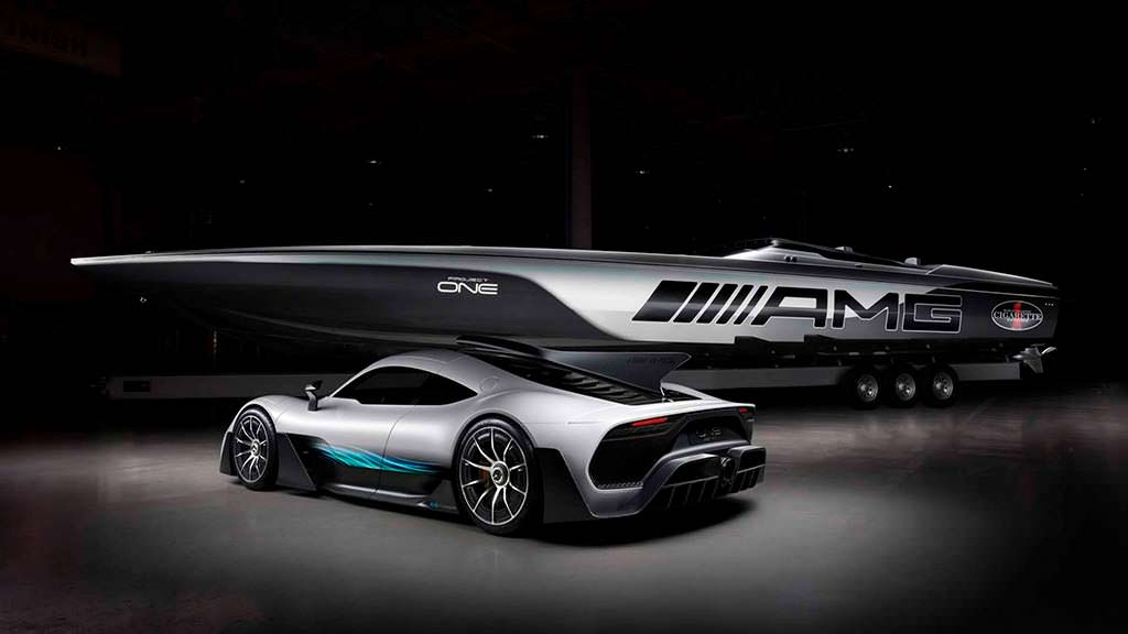 Cigarette Racing 515 Project One и Mercedes-AMG Project One