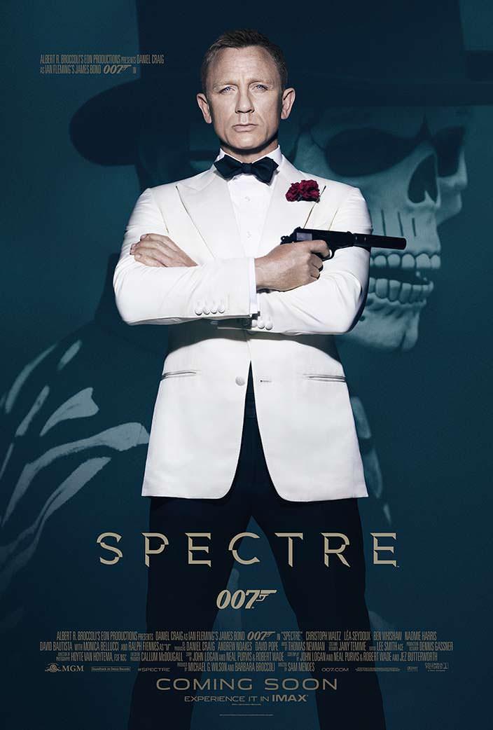 Постер «007: Спектр». 2015 год