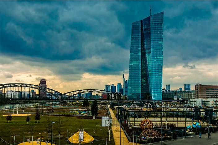 Небоскреб Европейского Центрального Банка. Цена $1,57 млрд