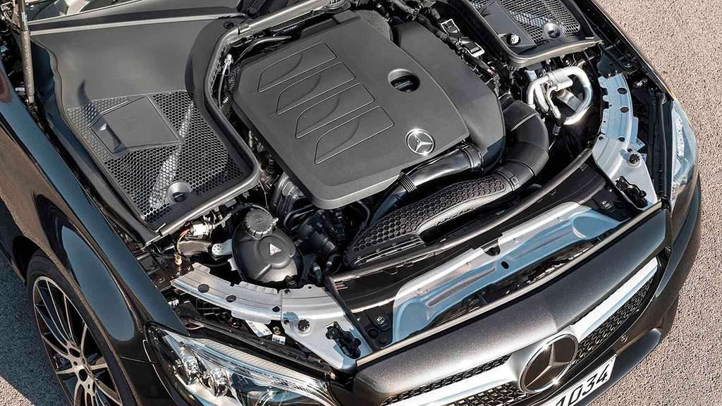 Двигатель Mercedes-Benz C-Class Cabriolet