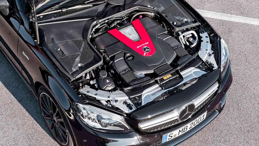 Двигатель Mercedes-AMG C43 Coupe