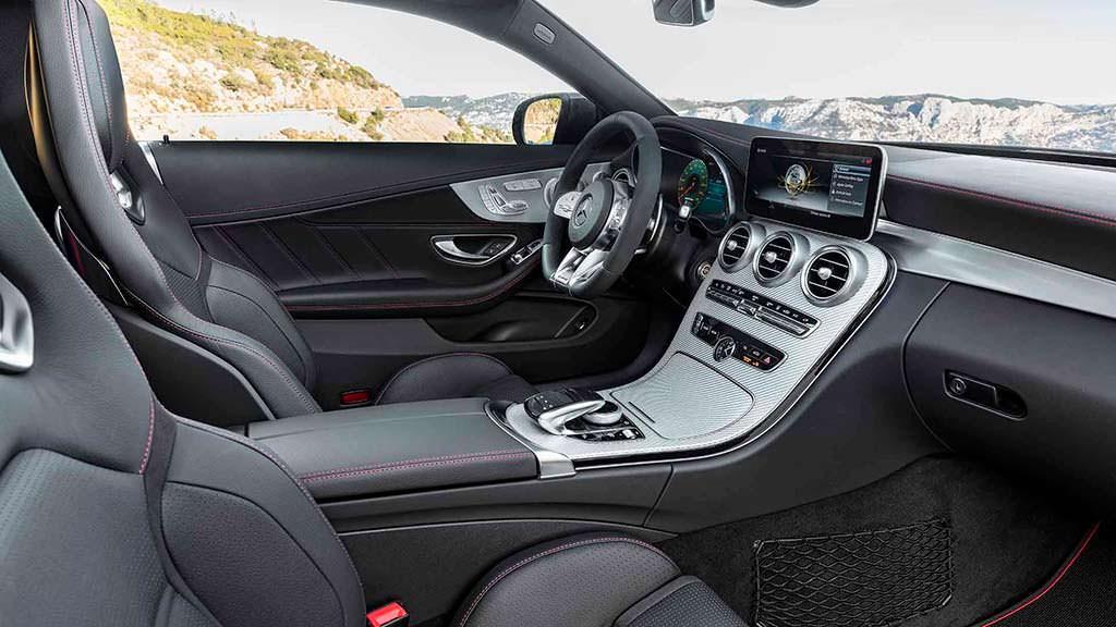 Фото внутри Mercedes-AMG C43 Coupe