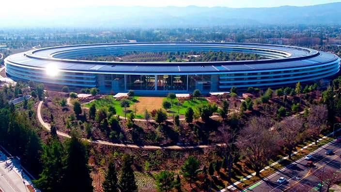 Кампус Apple Park. Цена $5 млрд