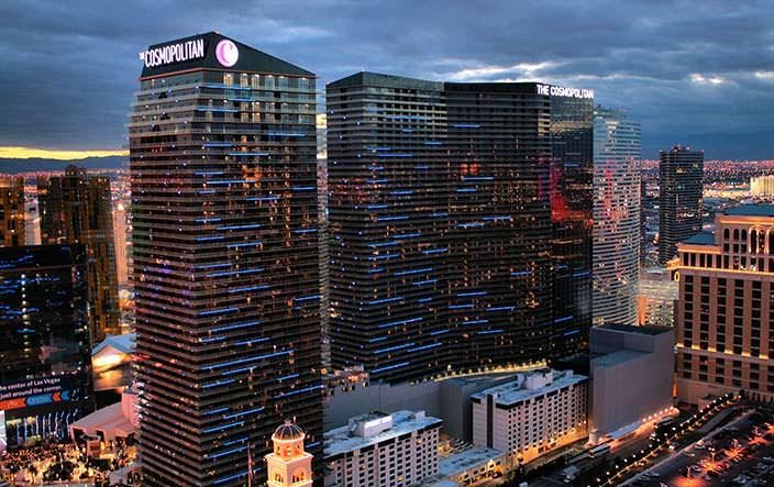 Казино и отель The Cosmopolitan of Las Vegas. Цена $3,9 млрд