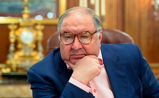 Миллиардер из России Алишер Усманов