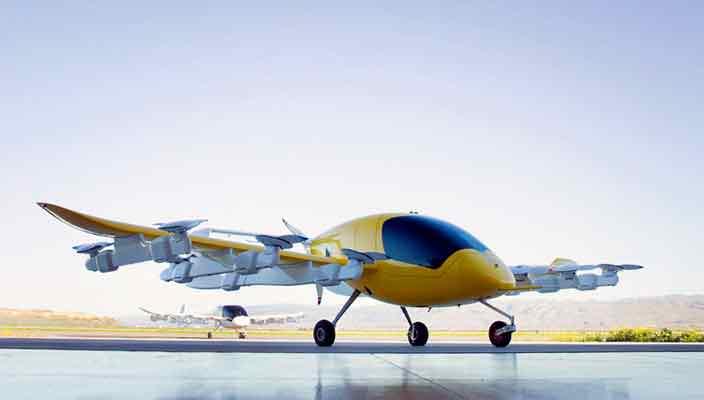 Ларри Пейдж разрабатывает автомное воздушное такси Cora