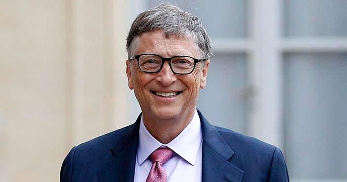 Билл Гейтс - самый богатый человек мира 1996–2007 и 2009–2016 гг