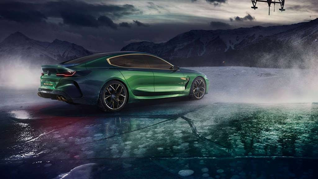 BMW Concept M8 Gran Coupe - ответ Mercedes-AMG 4-Door Coupe