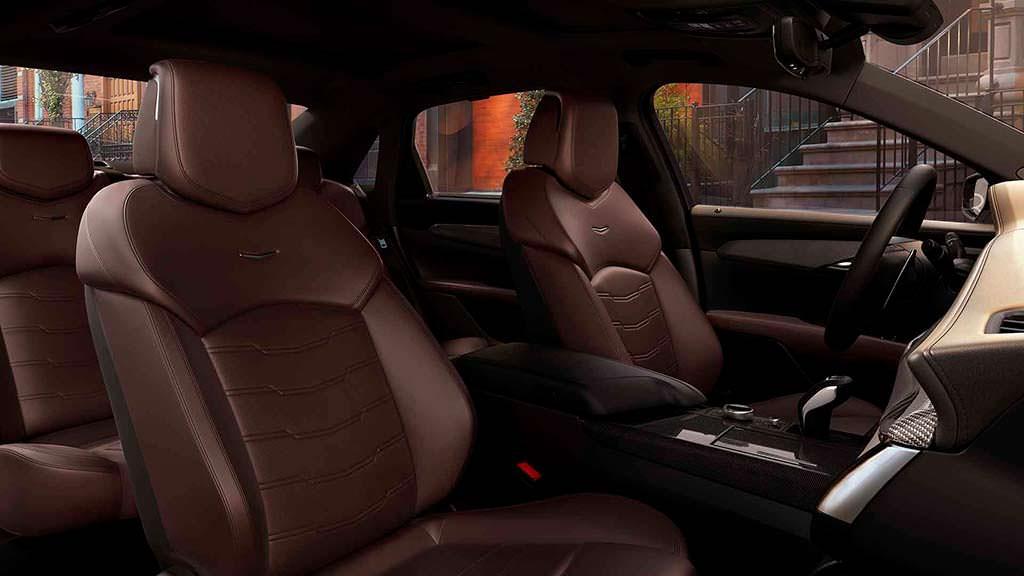 Кожаный салон Cadillac CT6 V-Sport