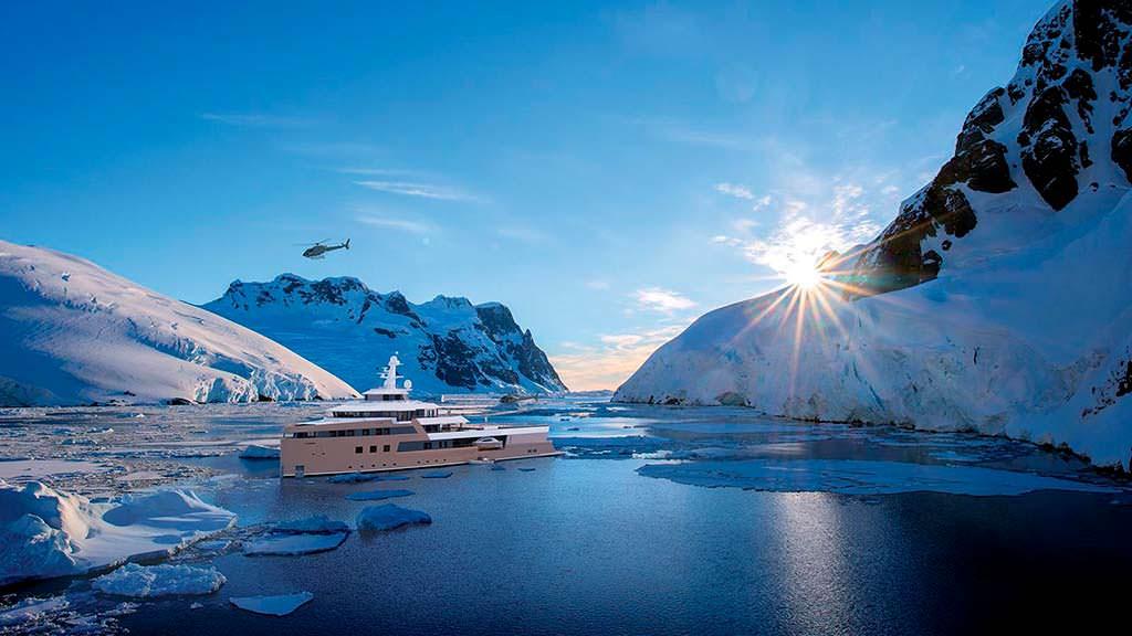 Экспедиционное судно Damen SeaXplorer 77