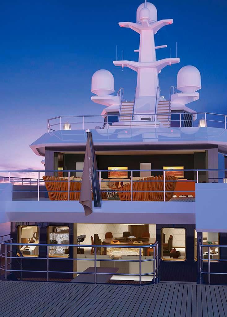 Новая яхта для экспедиций Damen SeaXplorer 77