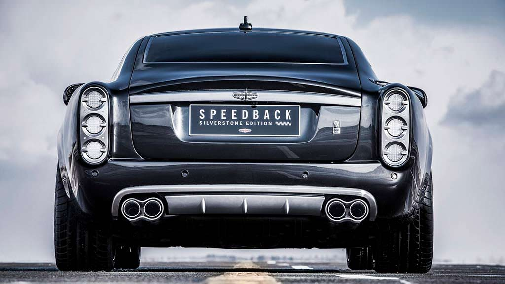 Сексуальное купе David Brown Speedback Silverstone Edition