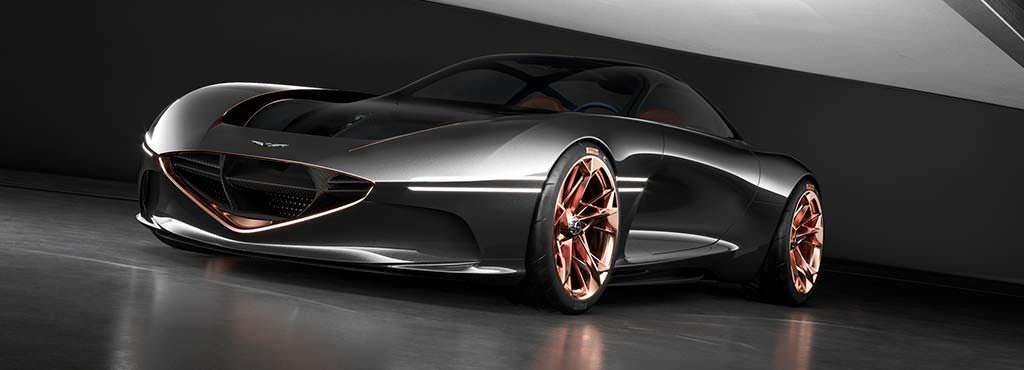 Электромобиль будущего Genesis Essentia
