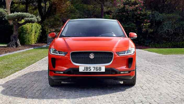 Электрокроссовер Jaguar I-Pace перешел в серию   фото, видео