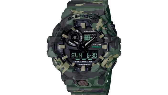 В Casio сделали новые камуфляжные часы серии G-Shock