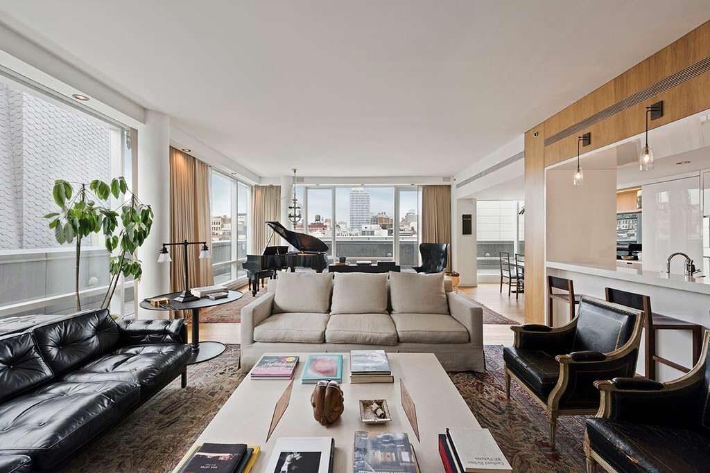 Квартира Джастина Тимберлейка в Нью-Йорке