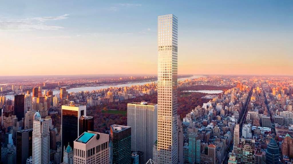 Самая высокая жилая башня в мире 432 Park Avenue