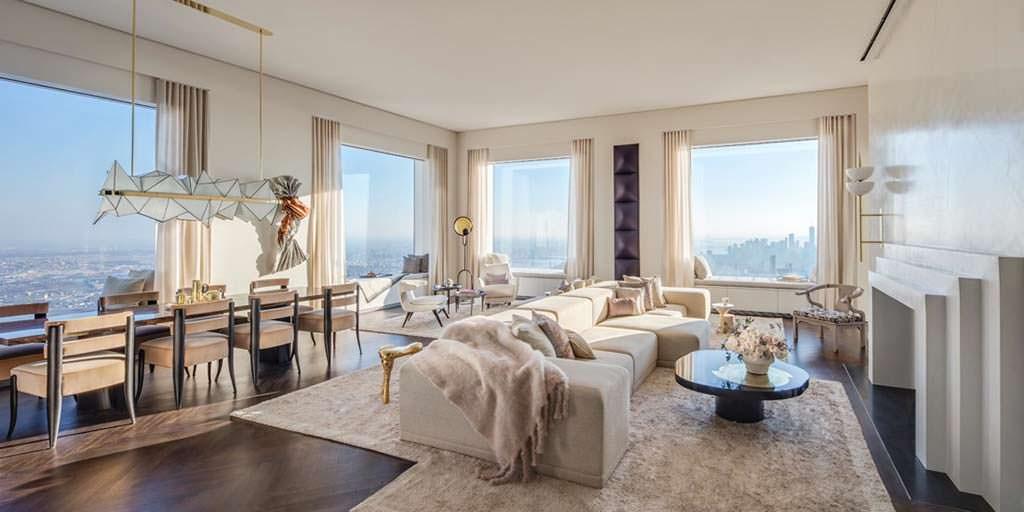 Новая квартира Дженнифер Лопес в башне 432 Park Avenue