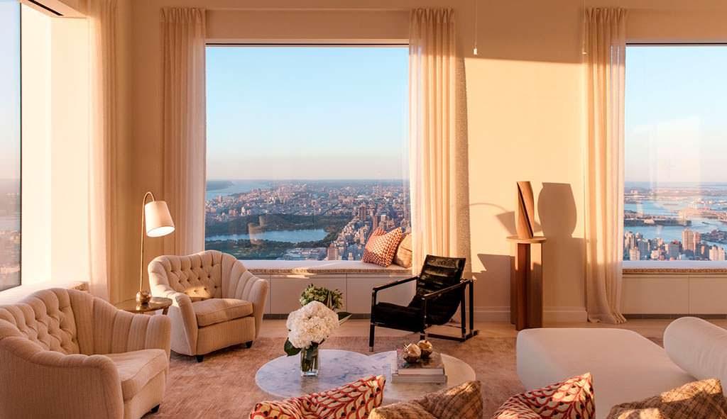 Новая квартира Дженнифер Лопес в небоскребе 432 Park Avenue