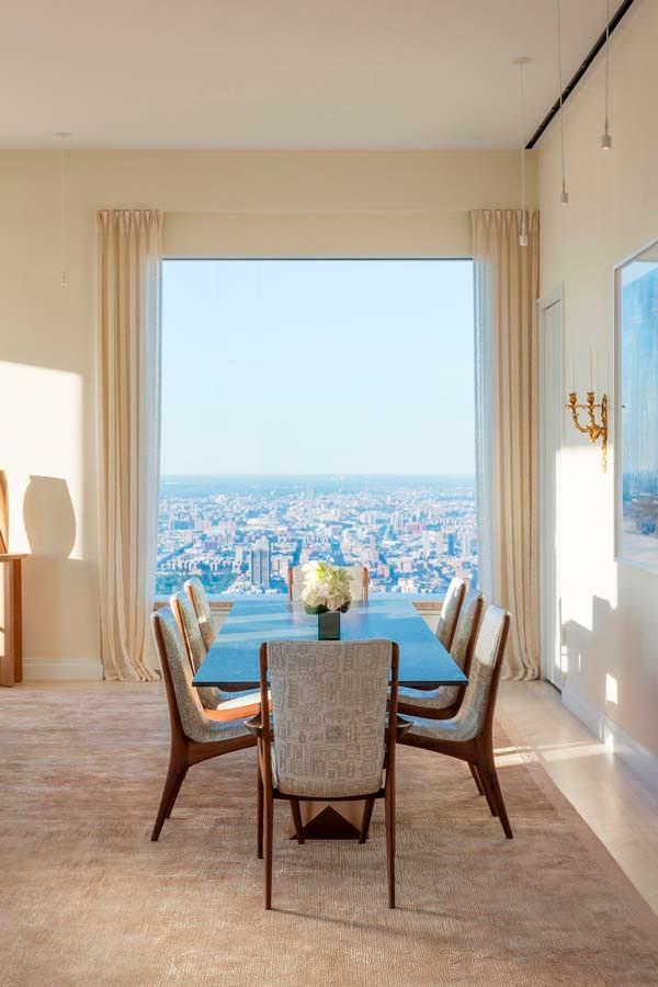 Квартира с видом на Центральный парк и Гудзон