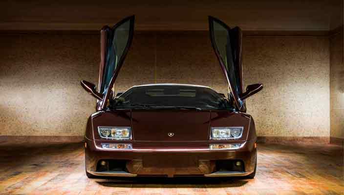 Старый Lamborghini Diablo продали по цене нового Aventador