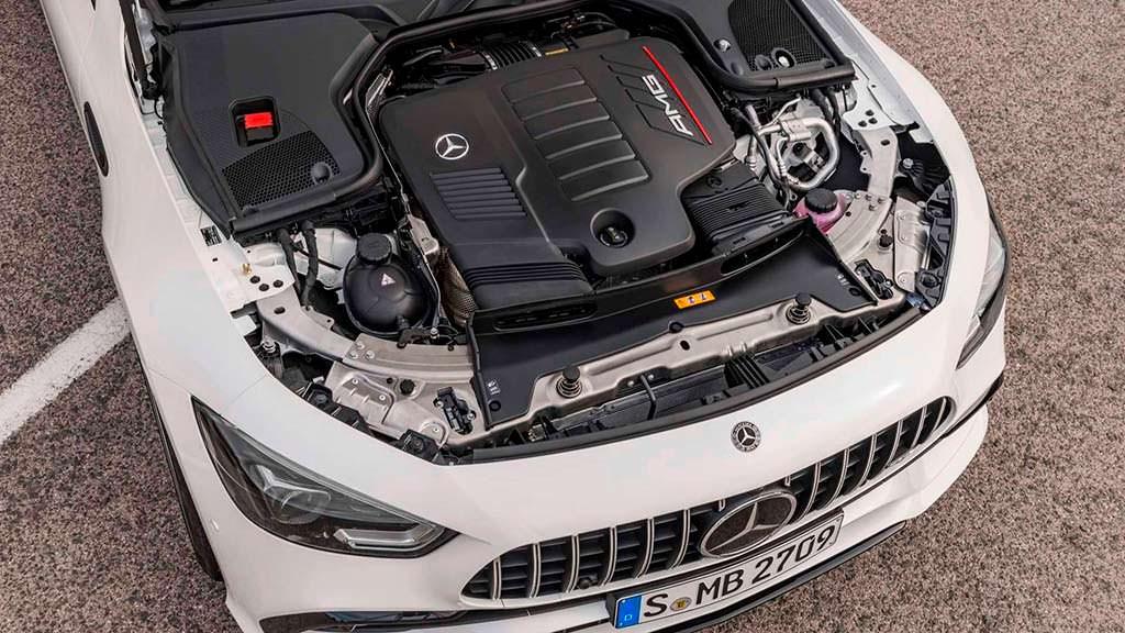 Двигатель Mercedes-AMG GT 4-Door Coupe. Мощность до 630 л.с.
