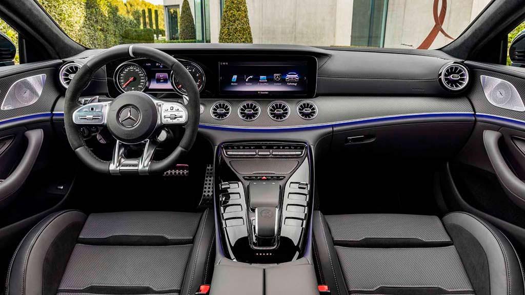 Фото салона Mercedes-AMG GT 4-Door Coupe