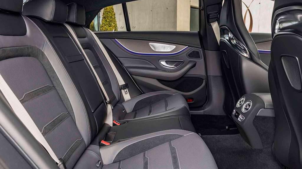 Задние сиденья Mercedes-AMG GT 4-Door Coupe