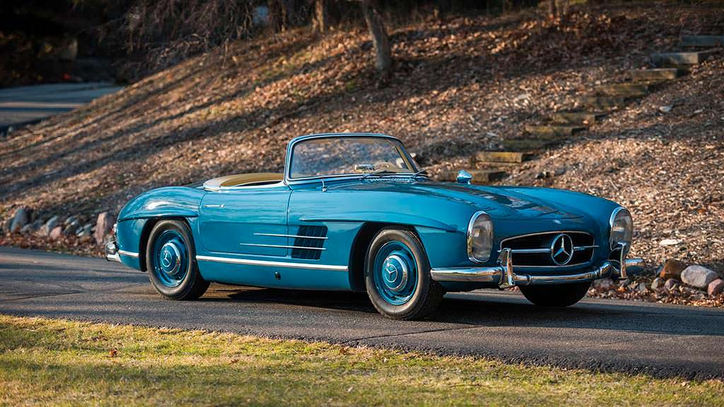 Mercedes-Benz 300 SL Roadster 1962 года выпуска