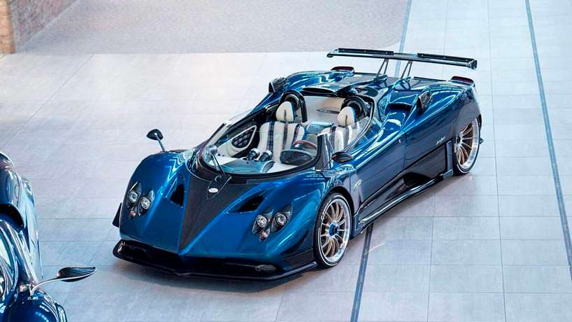 Zonda HP Barchetta - самый дорогой автомобиль Pagani