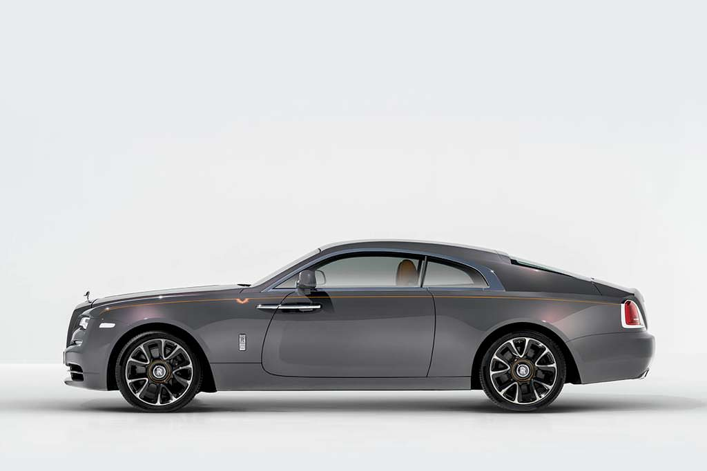 Rolls-Royce Wraith Luminary Edition. Выпустят 55 штук