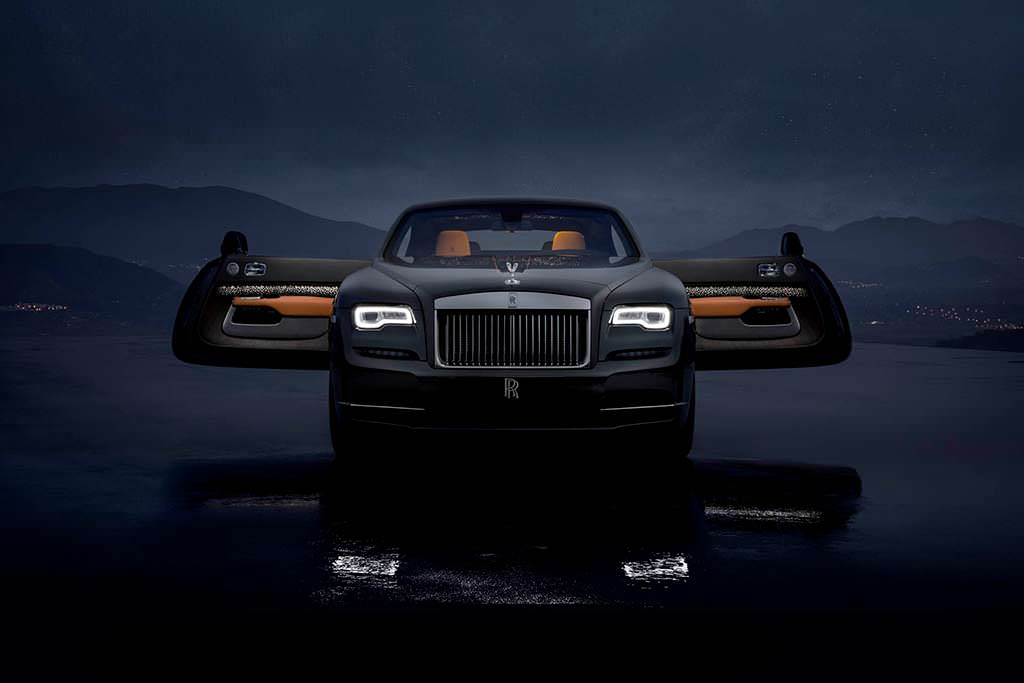 Rolls-Royce Wraith Luminary Edition. 1 из 55