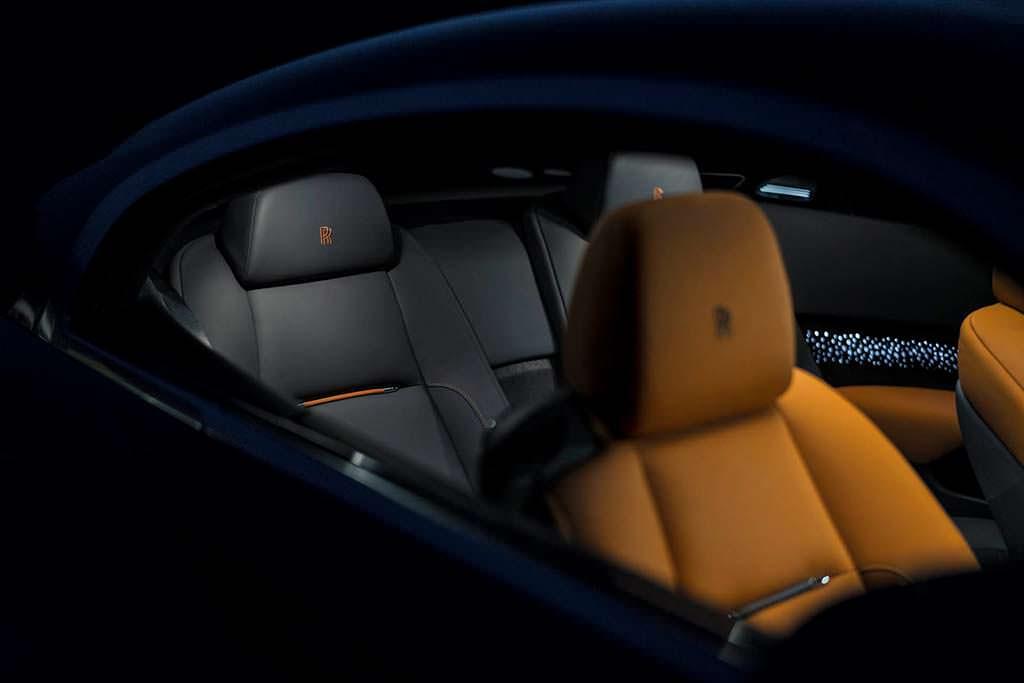 Фото салона Rolls-Royce Wraith Luminary Edition