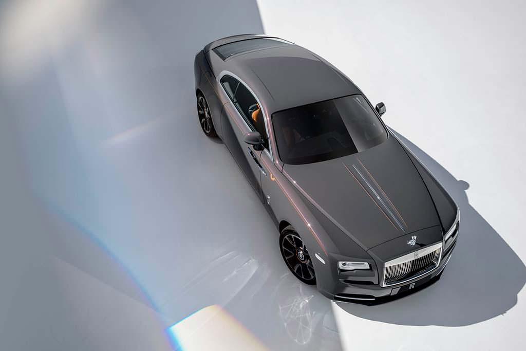 Шикарное купе Rolls-Royce Wraith Luminary Edition