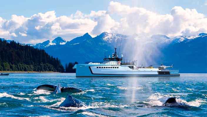 Damen показала 55,5-метровое судно поддержки для суперъяхт