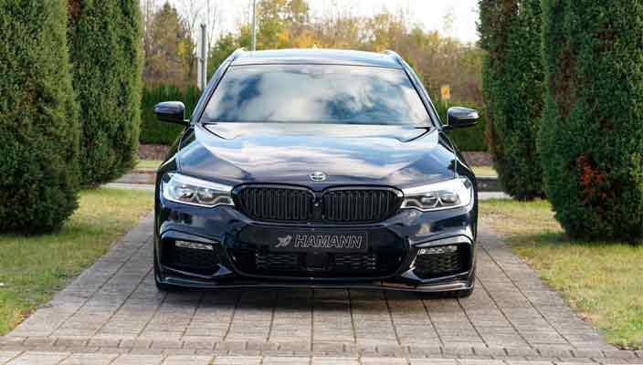 В Hamann сделали тюнинг BMW 5-Series на €105 000 | фото