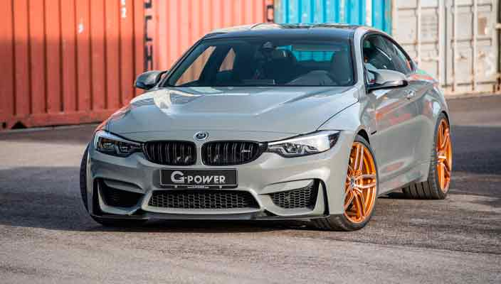 G-Power подготовил крутой тюнинг BMW M4 CS до 600 л.с. | фото