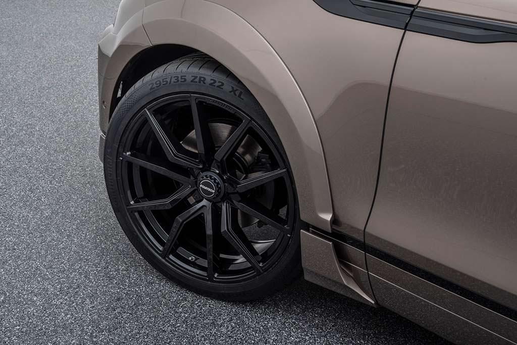 """Колесные диски 22"""" Startech Monostar M для Range Rover Velar"""